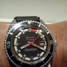 Relojes de pulsera: RELOJ DE SUBMARINISTA GENSAME AÑOS 70 A CUERDA. Lote 170457928