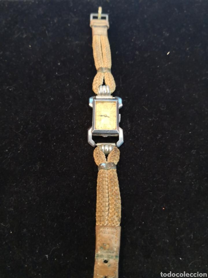 Relojes de pulsera: Antiguo reloj de mujer marvin - Foto 2 - 170497824