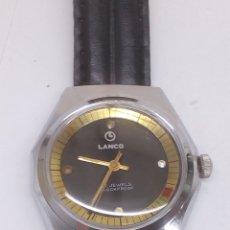 Relojes de pulsera: RELOJ LANCO CARGA MANUAL. Lote 170530814