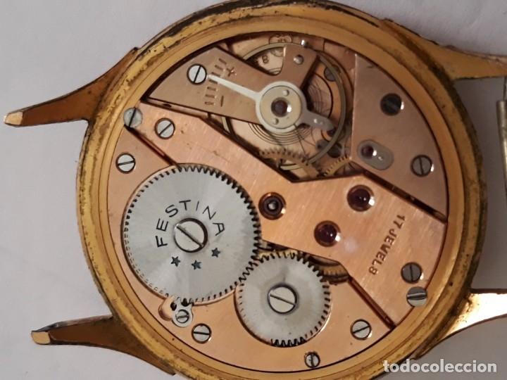 Relojes de pulsera: reloj de pulsera caballero carga manual festina extra, funciona - Foto 5 - 170948410
