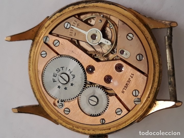 Relojes de pulsera: reloj de pulsera caballero carga manual festina extra, funciona - Foto 6 - 170948410