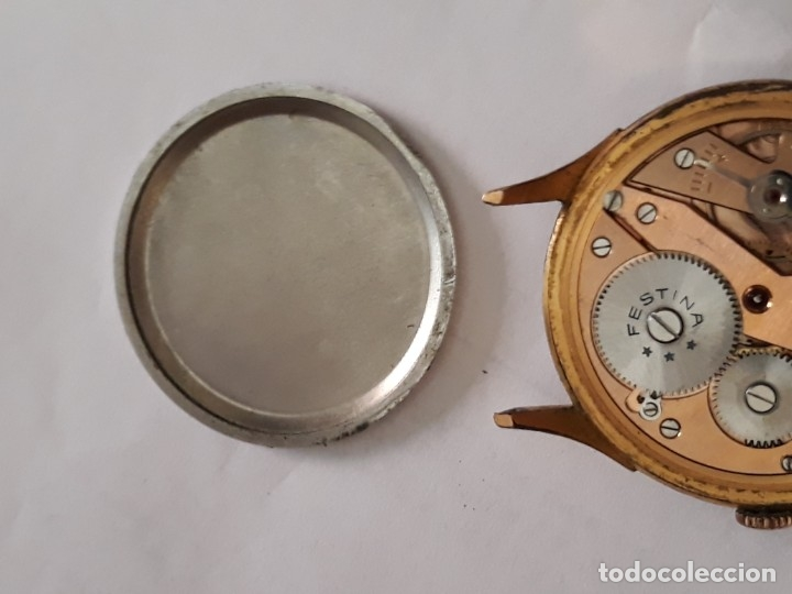 Relojes de pulsera: reloj de pulsera caballero carga manual festina extra, funciona - Foto 7 - 170948410
