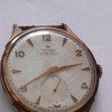 Relojes de pulsera: RELOJ DE PULSERA CABALLERO CARGA MANUAL FESTINA EXTRA, FUNCIONA. Lote 170948410