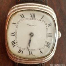 Relojes de pulsera: ANTIGUO RELOJ SUIZO TIARA 17 RUBIS 30 MM FUNCIONA . Lote 170963588