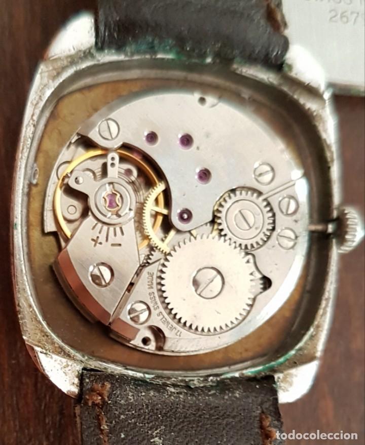 Relojes de pulsera: Antiguo reloj Suizo Tiara 17 rubis 30 mm funciona - Foto 2 - 170963588