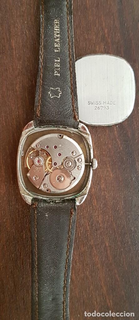 Relojes de pulsera: Antiguo reloj Suizo Tiara 17 rubis 30 mm funciona - Foto 3 - 170963588