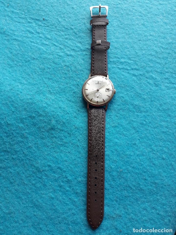 Relojes de pulsera: Reloj Marca Lanco. Clásico de Caballero. Funcionando - Foto 2 - 170976737