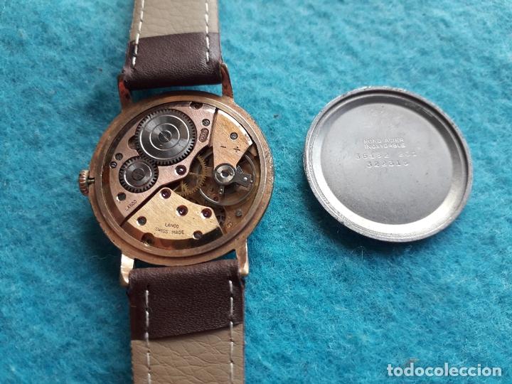 Relojes de pulsera: Reloj Marca Lanco. Clásico de Caballero. Funcionando - Foto 5 - 170976737