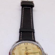 Relojes de pulsera: RELOJ HENRI SANDOZ & FILS CARGA MANUAL. Lote 171101058