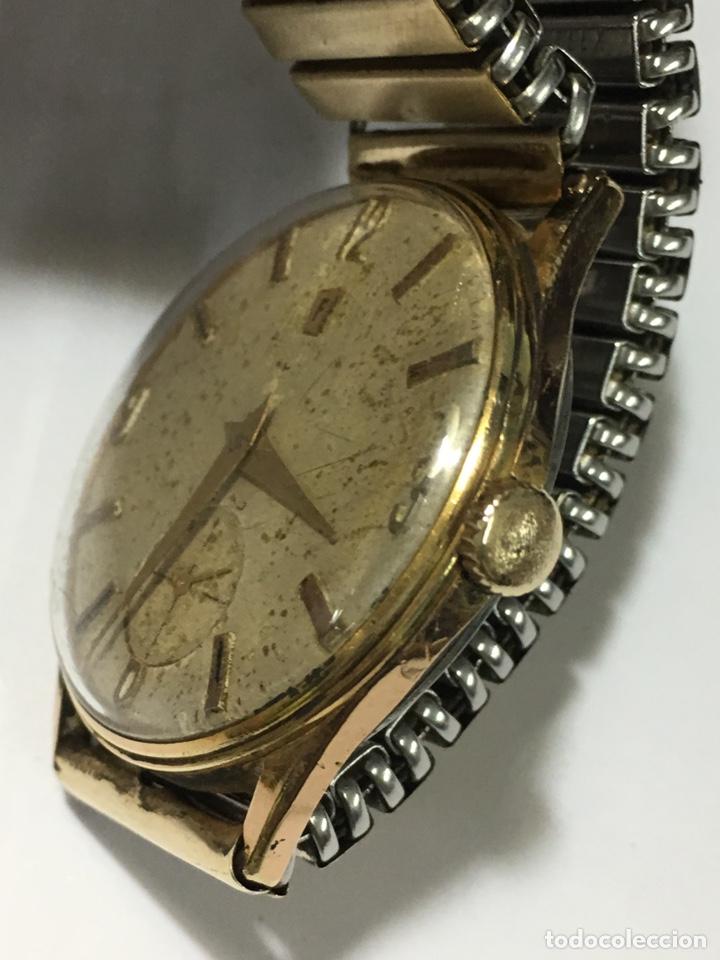 Relojes de pulsera: Reloj Festina carga manual y caja chapada oro maquinaria Swiss made - Foto 3 - 171126769