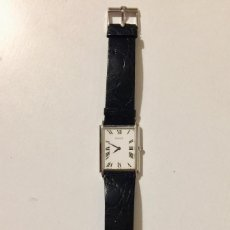 Relojes de pulsera: PIAGET RELOJ DE PULSERA CORREA PIEL COCODRILO HOMBRE ORO 18K CORONA ZAFIRO. Lote 171143855