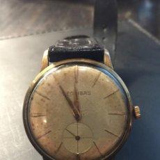 Relojes de pulsera: RELOJ DE PULSERA MARCA LEONIDAS DE CUERDA DE LOS AÑOS 40-50 , FUNCIONA. Lote 180172320
