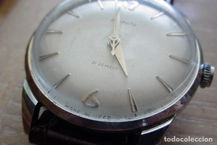 Relojes de pulsera: Reloj ruso Raketa Global URSS - Foto 4 - 171185238