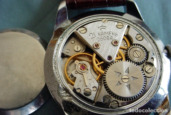 Relojes de pulsera: Reloj ruso Raketa Global URSS - Foto 11 - 171185238