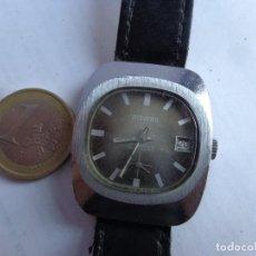 Relojes de pulsera: AÑTIGUO AÑOS 60 Y BONITO RELOJ CABALLERO A CUERDA DUWARD, COMPLETO Y FUNCIONANDO. Lote 185895307