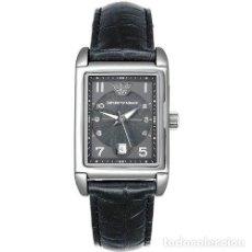 Relojes de pulsera: RELOJ EMPORIO ARMANI, MODEL AR 274; CAJA RECTANGULAR DE ACERO INOXIDABLE. Lote 171552547