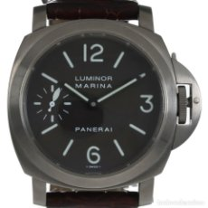 Relojes de pulsera: PANERAI LUMINOR MARINA TITANIO FULL SET 44MM. Lote 171607288