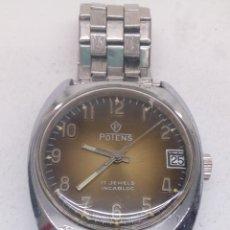 Relojes de pulsera: RELOJ POTENS CARGA MANUAL. Lote 171628960