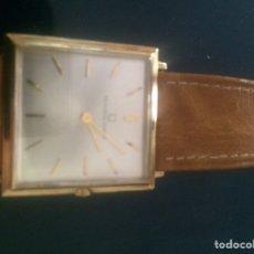 Relojes de pulsera: RELOJ UNIVERSAL AÑOS 64-ORO SIN USO. Lote 171684049
