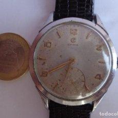 Relojes de pulsera: AÑOS 50 PRECIOSO RELOJ CABALLERO CUERDA CYMA GRANDE COMPLETO FUNCIONANDO IMPECABLE. Lote 171700677