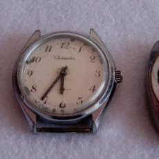 Relojes de pulsera: LOTE DE 3 RELOJES MECANICOS CABALLERO F4. Lote 171735548