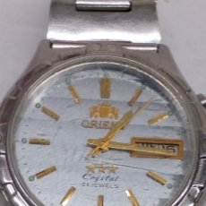 Relojes de pulsera: RELOJ ORIENT CRISTAL CARGA MANUAL. Lote 171998953