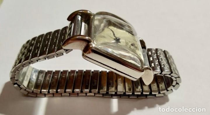 Relojes de pulsera: ANTIGUO RELOJ DOGMA PRIMA WISS MADE 17 JEWELS . 29 X 42 M/M. - Foto 2 - 172017488