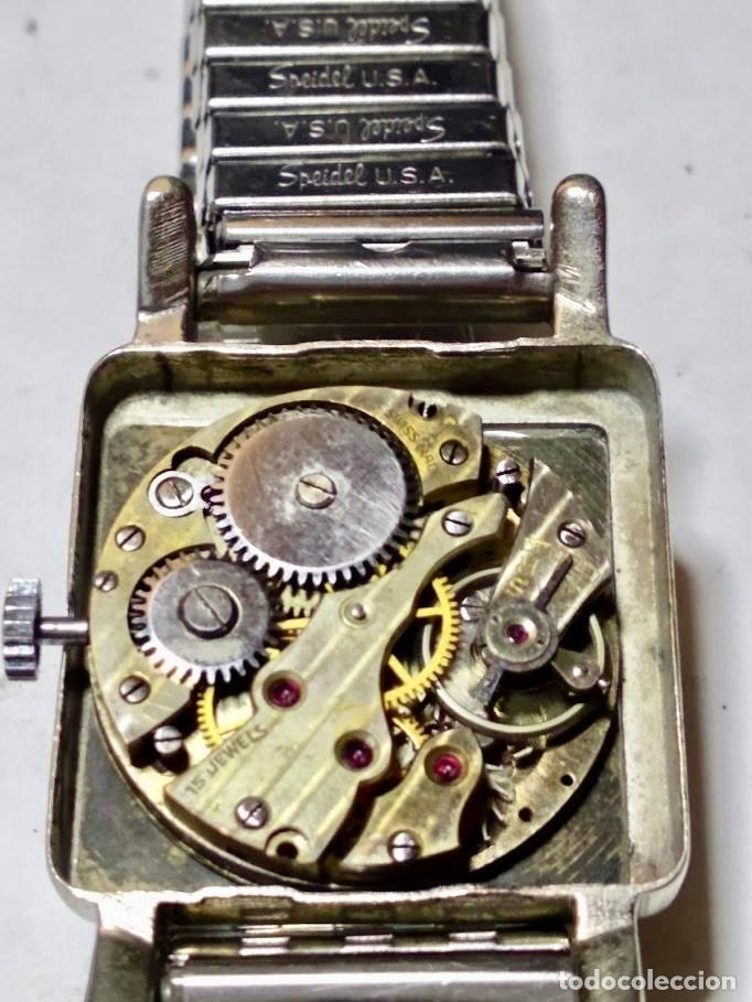 Relojes de pulsera: ANTIGUO RELOJ DOGMA PRIMA WISS MADE 17 JEWELS . 29 X 42 M/M. - Foto 7 - 172017488