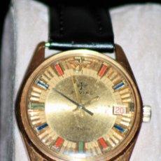 Relojes de pulsera: RELOJ JOVIAL FUNCIONA OK LIMPIO Y REVISADO. Lote 172134007