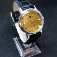 Relojes de pulsera: RELOJ VINTAGE - MARCA HMT - MODELO AKASH - CARGA MANUAL (CUERDA )- FUNCIONANDO BIEN. Lote 172242782