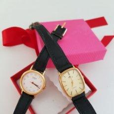 Relojes de pulsera: LOTE DE 2 RELOJES DE PULSERA LOTUS Y ORIENT (RESISTENTE AL AGUA). Lote 172297653
