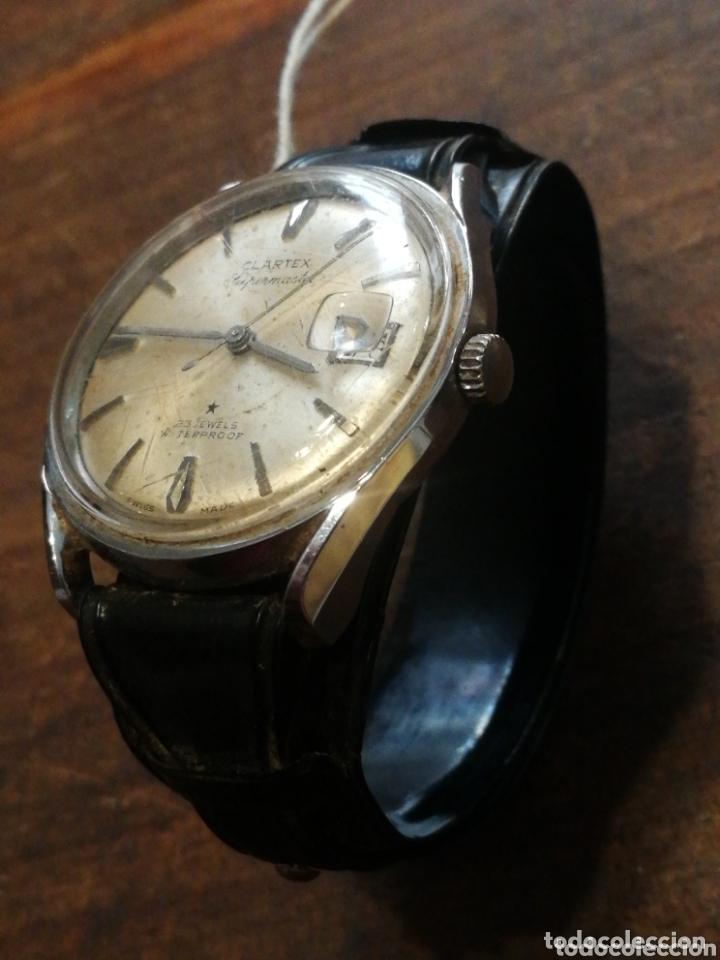 Calendario Supermaster.Reloj De Pulsera Clartex Supermaster 35mm 25 Jewels Waterproof Swiss Made Funcionando