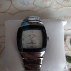 Relojes de pulsera: RELOJ ( MUY BUSCADO, LOUIS VALENTIN SWISS QUARTZ ), CAJA 33 MM. FUNCIONANDO. ( MÁS EN MÍ PERFIL). Lote 172365657