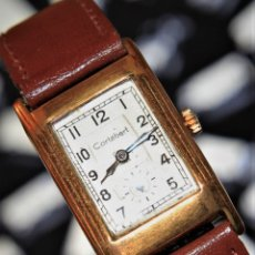 Relojes de pulsera: RELOJ CORTEBERT ART DECO FUNCIONA OK. Lote 172371975