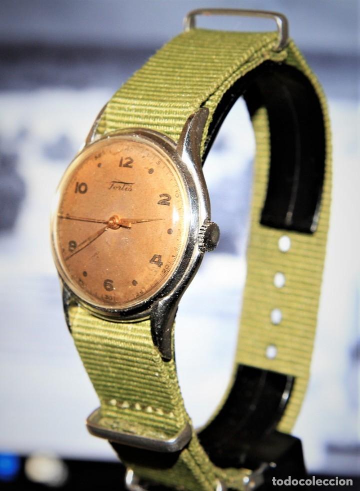Relojes de pulsera: RELOJ FORTIS COMBATE FUNCIONA OK - Foto 2 - 172372758