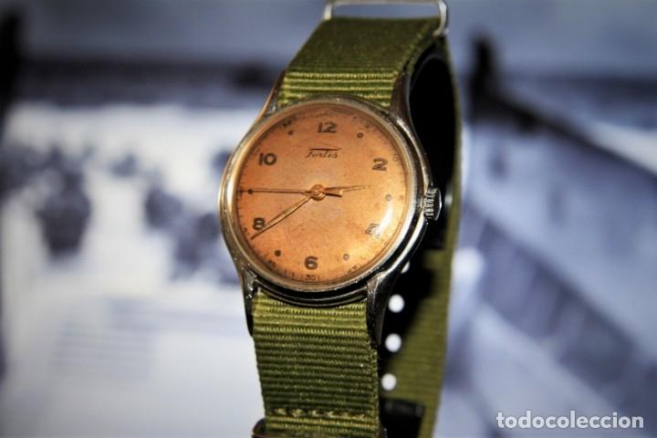 Relojes de pulsera: RELOJ FORTIS COMBATE FUNCIONA OK - Foto 3 - 172372758