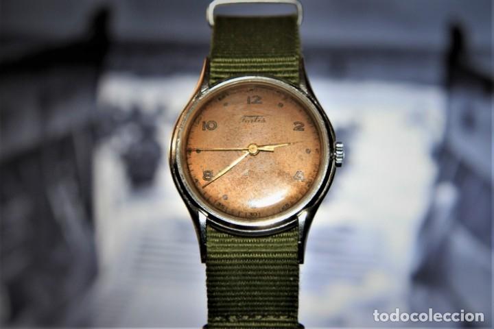 Relojes de pulsera: RELOJ FORTIS COMBATE FUNCIONA OK - Foto 5 - 172372758