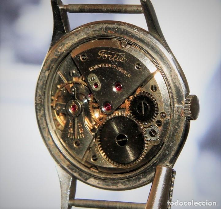 Relojes de pulsera: RELOJ FORTIS COMBATE FUNCIONA OK - Foto 6 - 172372758