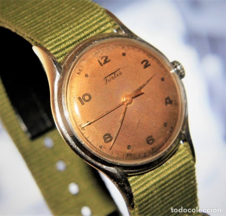 Relojes de pulsera: RELOJ FORTIS COMBATE FUNCIONA OK - Foto 7 - 172372758