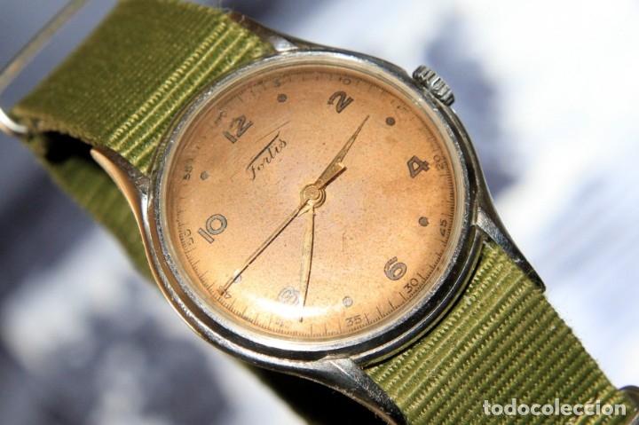Relojes de pulsera: RELOJ FORTIS COMBATE FUNCIONA OK - Foto 10 - 172372758
