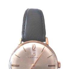 Relojes de pulsera: CERTINA RELOJ PULSERA CAL 28 - 10 AÑOS 60, FUNCIONA. MED 32 MM SIN CONTAR CORONA. Lote 172450585