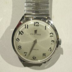 Relojes de pulsera: RELOJ CABALLERO FESTINA CAJA ACERO, FUNCIONA. MED. 3,4 CM SIN CONTAR CORONA. Lote 172451620