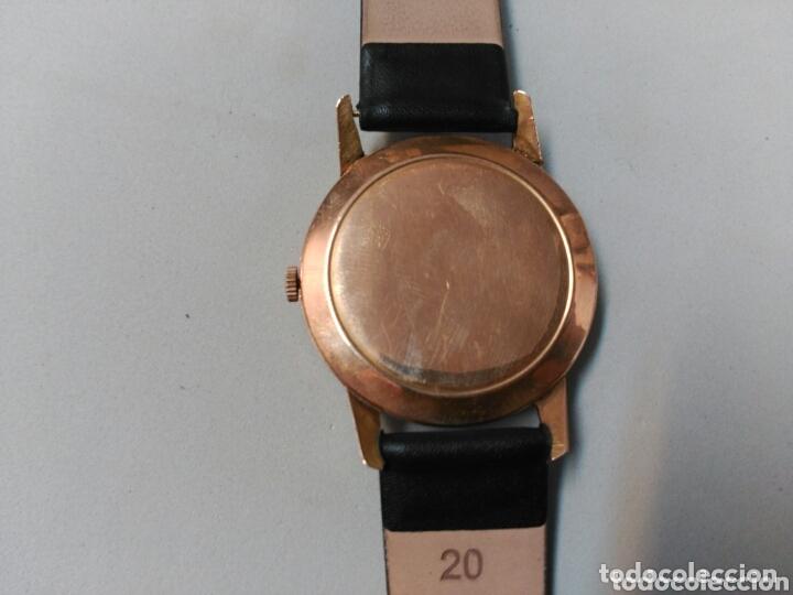 Relojes de pulsera: Reloj de caballero Cyma, en oro, carga manual, funcionando - Foto 14 - 63099488