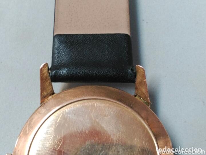 Relojes de pulsera: Reloj de caballero Cyma, en oro, carga manual, funcionando - Foto 15 - 63099488