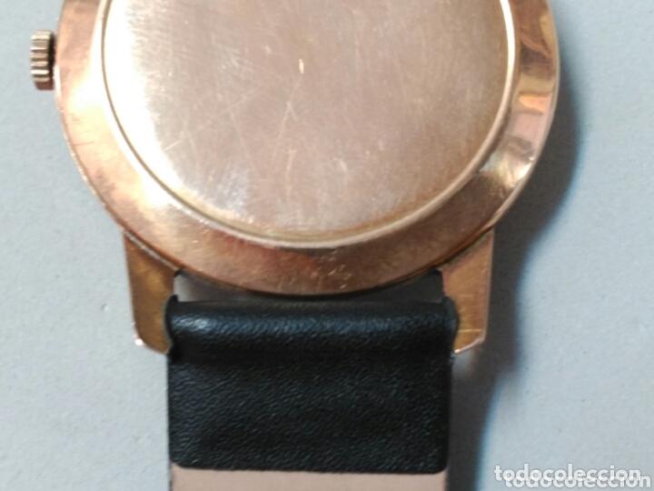 Relojes de pulsera: Reloj de caballero Cyma, en oro, carga manual, funcionando - Foto 16 - 63099488