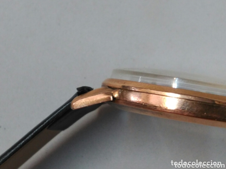 Relojes de pulsera: Reloj de caballero Cyma, en oro, carga manual, funcionando - Foto 18 - 63099488
