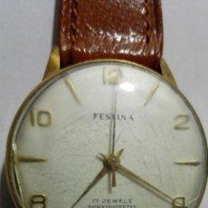 Relojes de pulsera: RELOJ DE PULSERA, MARCA FESTINA, 17 JEWELS, DIAMETRO 33 MM, FUNCIONA. Lote 172582020