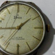 Relojes de pulsera: RELOJ DE PULSERA, MARCA EDOX, 17 RUBIS, CONTRAGOLPES, DIAMETRO 33 MM, FUNCIONA, NO TIENE CORREA. Lote 172582510