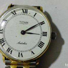 Relojes de pulsera: RELOJ DE PULSERA, MARCA TITAN, ANTICHOC, 30 MM, FUNCIONA. Lote 172630473