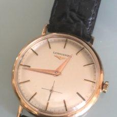 Relojes de pulsera: RELOJ LONGINES ORO 18 QUILATES AÑOS 60. Lote 172656157